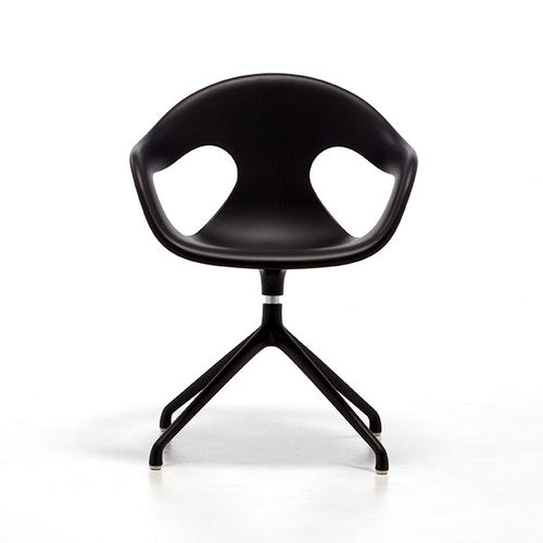 contemporary office chair / star base / swivel / plastic