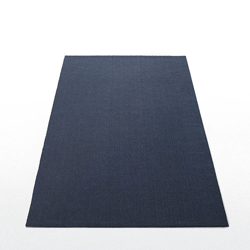 contemporary rug / plain / synthetic fiber / rectangular