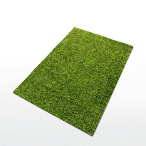 contemporary rug / tufted / plain / synthetic fiber