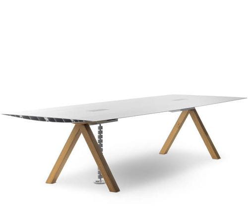 wooden desk / extruded aluminum / contemporary / by Konstantin Grcic