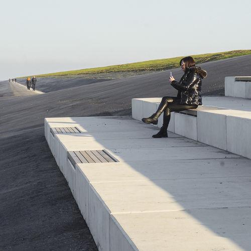contemporary public bench - Streetlife