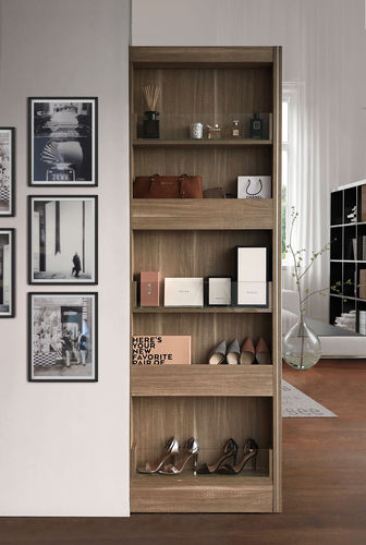 wall-mounted wardrobe