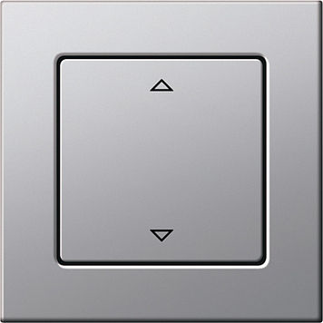 blind switch / push-button / recessed / contemporary