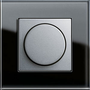 light dimmer switch / rotating / recessed / plastic