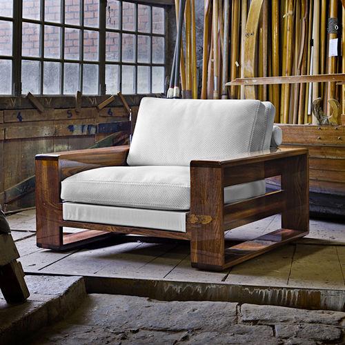 contemporary armchair - EXTETA