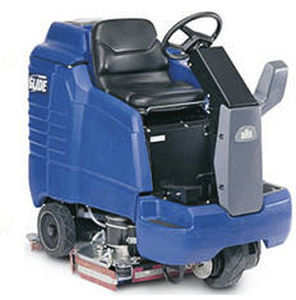 ride-on scrubber