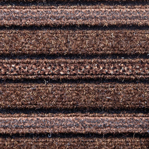 entrance mat for public buildings / polyamide / polypropylene / with brush