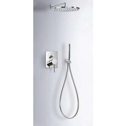 recessed wall shower set - TRES Grifería