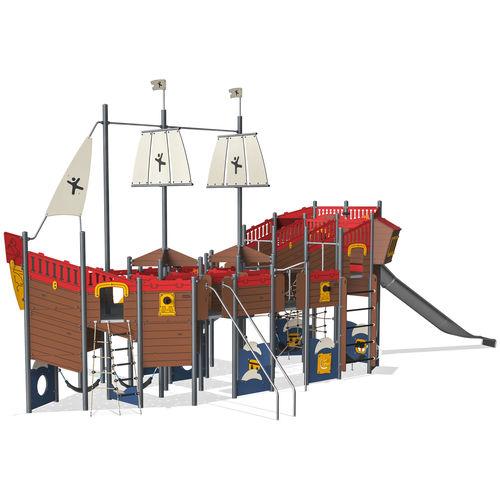 playground play structure / HPL / modular
