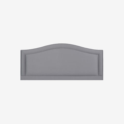 double bed headboard / traditional / fabric / upholstered