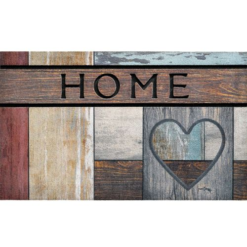 home entrance mat / rubber / patterned / recyclable