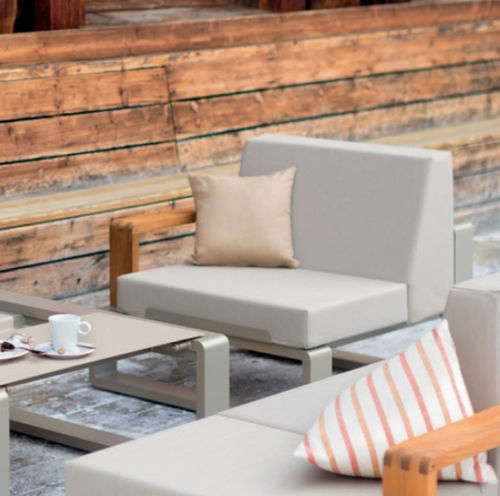 upholstery fabric / plain / Batyline® / for outdoor use
