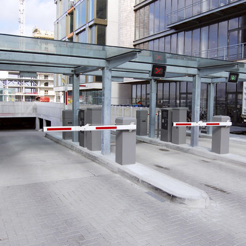 parking lot payment kiosk - Alphatronics