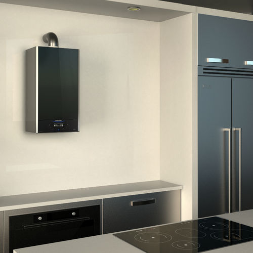 gas boiler / wall-mounted / residential / condensing
