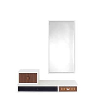 contemporary entryway cabinet / wall-mounted / wooden