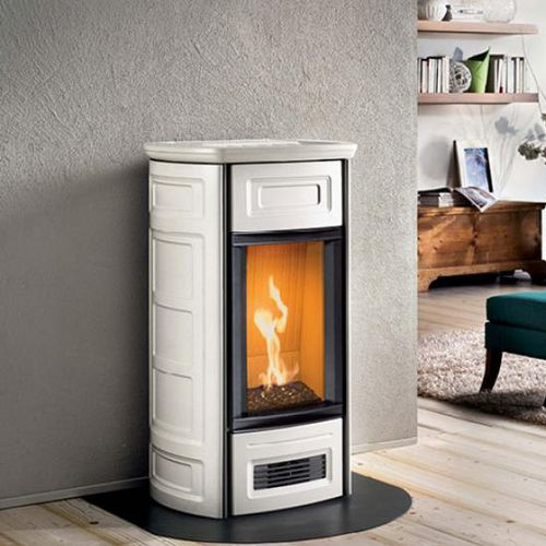 gas heating stove / traditional / earthenware