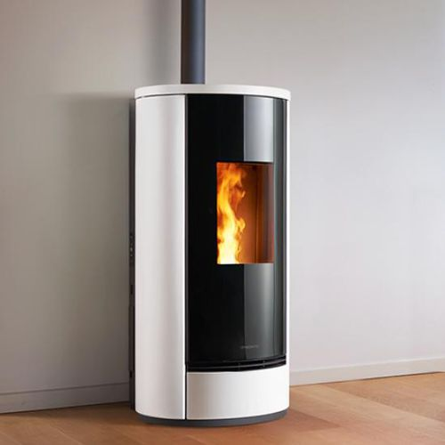 pellet heating stove