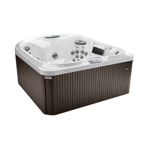 above-ground hot tub