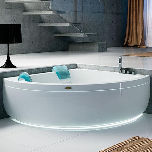 free-standing bathtub