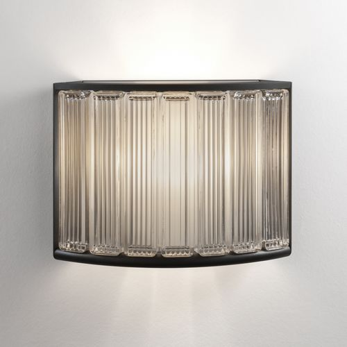 contemporary wall light / glass / methacrylate / LED