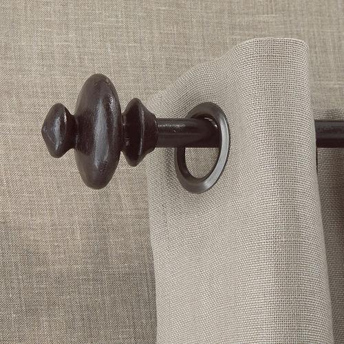 bronze curtain rod