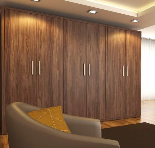 contemporary wardrobe / wooden / with swing doors / for hotel