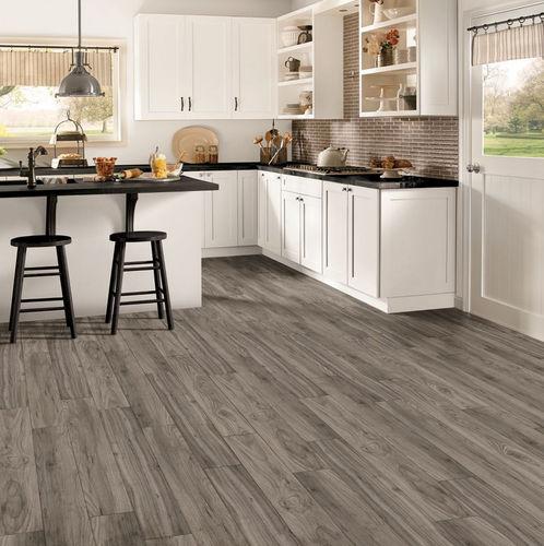 vinyl flooring / commercial / strip / smooth
