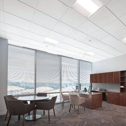 mineral fiber suspended ceiling