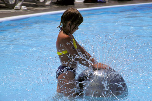 water park water play feature