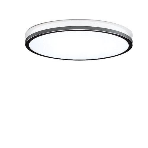contemporary ceiling light / round / glass / chromed metal