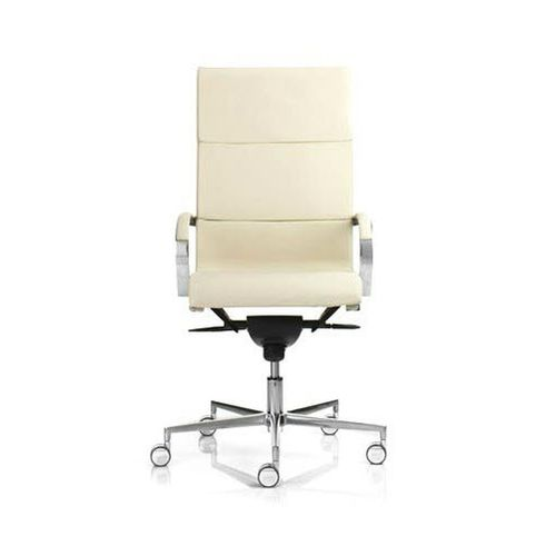contemporary office armchair / mesh / polyester / aluminum