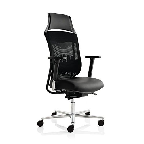 contemporary executive chair / nylon / aluminum / swivel