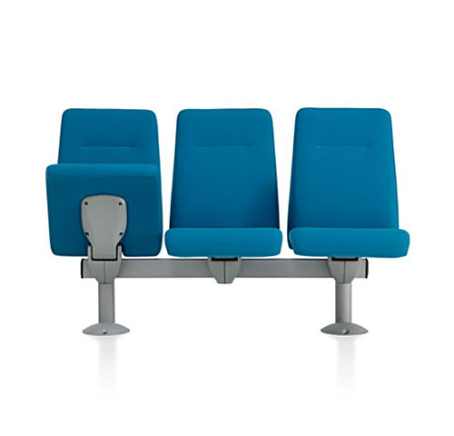 contemporary auditorium seating / fabric