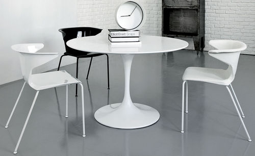 contemporary chair / steel