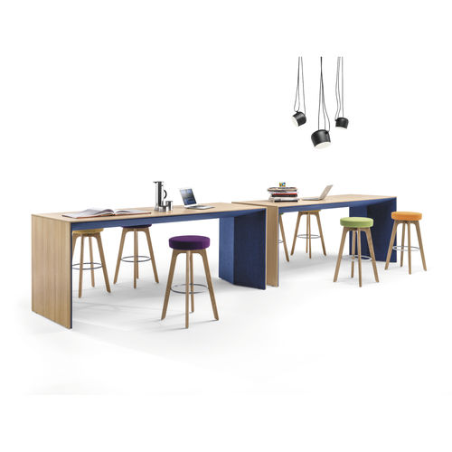 contemporary boardroom table / wooden / MDF / melamine