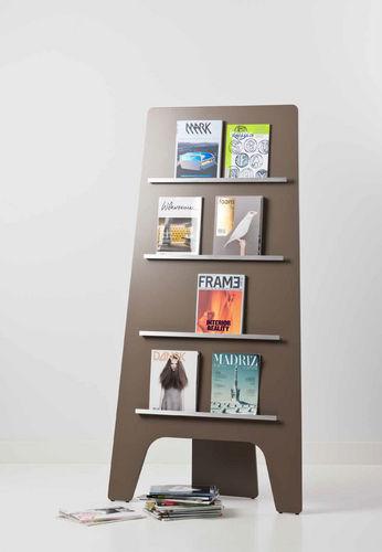 periodicals display rack / aluminum