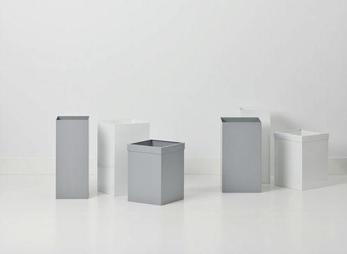 steel waste paper basket