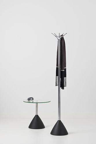 floor coat rack / contemporary / aluminum / cast iron