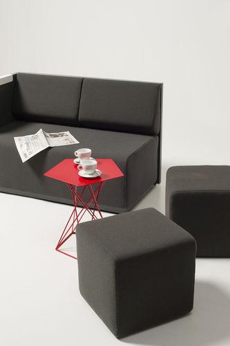 contemporary sofa / fabric / commercial / 2-person