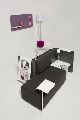 contemporary sofa / fabric / commercial / for public buildings