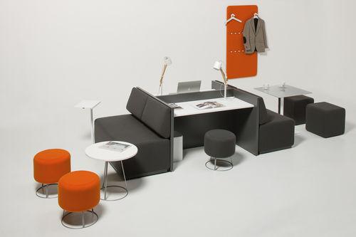 workstation desk / metal / contemporary / commercial
