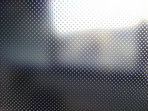 tempered glass panel / safety / patterned / for partition walls