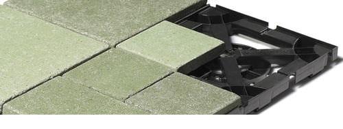 stone raised access floor / outdoor