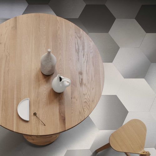 indoor hexagonal tile