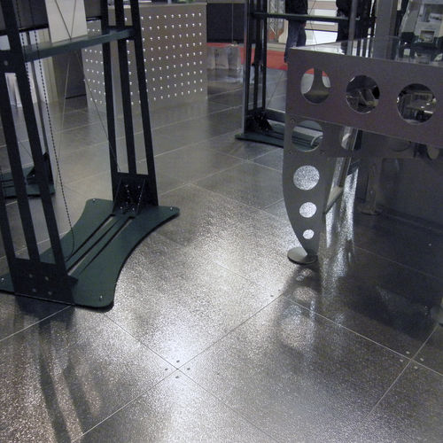 metal raised access floor - Planium