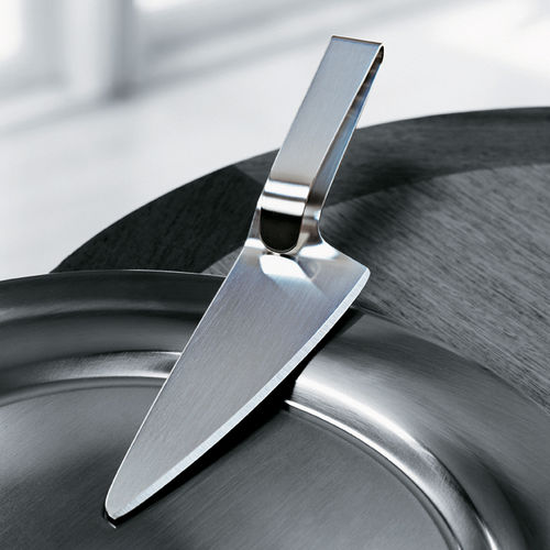 kitchen knife with stainless steel blade
