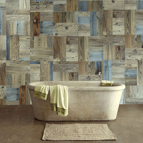 wooden wallcovering