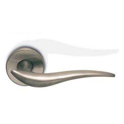 glass door handle / metal / contemporary / chrome