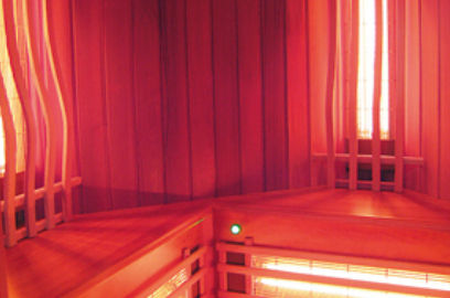 infrared sauna / commercial