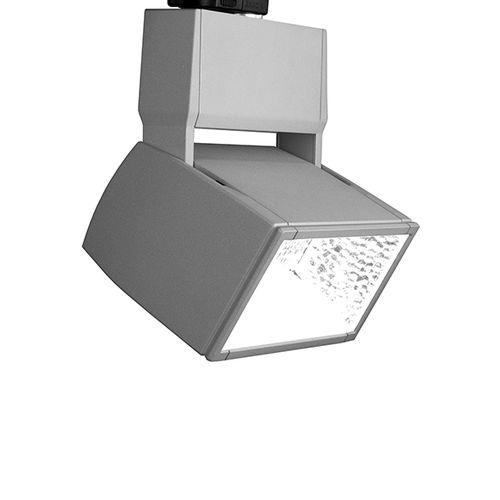 LED track light / rectangular / aluminum / cast aluminum